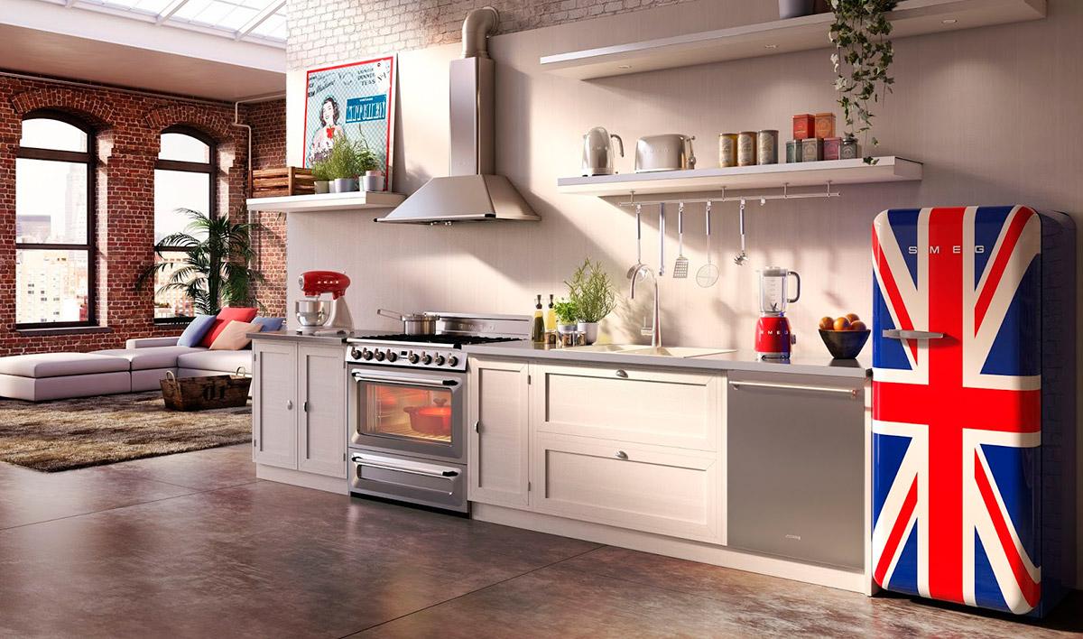 Smeg a os 50 los frigor ficos retro que decorar n tu - Cocinas anos 50 ...